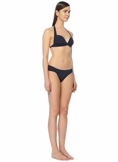 Jets Swimmear Yanları Büzgülü Bikini Altı Lacivert